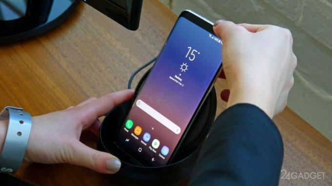 Док-станция Samsung DeX Pad превратит Galaxy S9 в тачпад и ПК