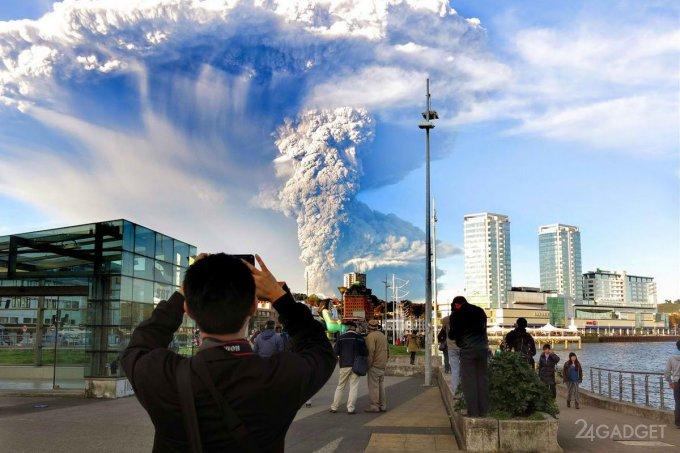 Пепел вулкана: дешевая основа цемента (4 фото)