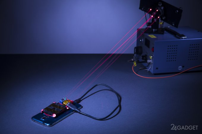 Лазер поможет зарядить смартфон (5 фото)