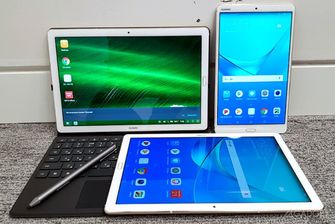 MediaPad M5 — мультимедийная серия планшетов от Huawei