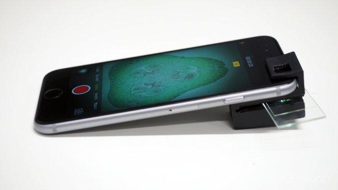 Эту микроскопную насадку для смартфонов может изготовить любой желающий
