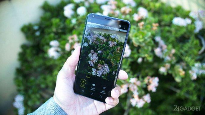Обновлённый флагман LG V30 получил искусственный интеллект