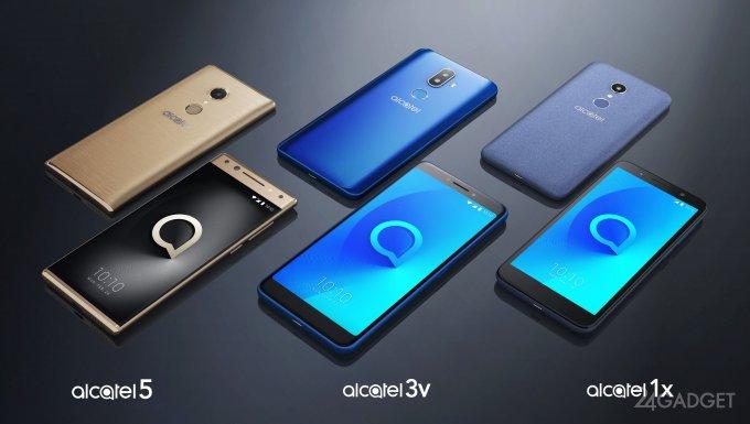 Alcatel: россыпь смартфонов и планшетов в рамках MWC 2018