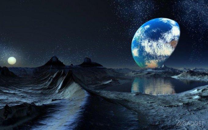 Учёные выяснили из чего состоит лёд на Луне