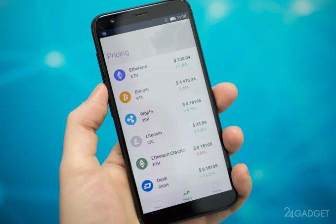 SIKURPhone — смартфон для безопасного хранения криптовалют