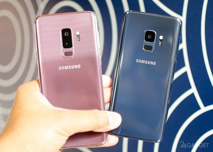 Galaxy S9 и S9+ протестировали на ремонтопригодность и прочность (14 фото + видео)