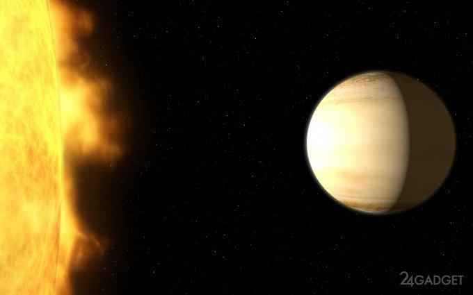 Атмосфера «близкой» экзопланеты содержит много воды