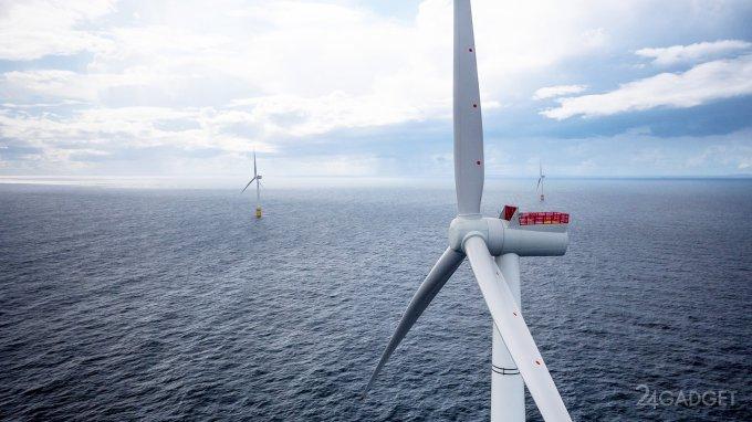 Плавучая ветроэлектростанция Hywind удивила энергетиков (видео)