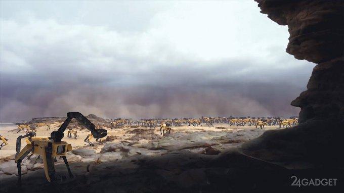 """Робокалипсис: так будет выглядеть Земля после """"восстания машин"""" (видео)"""