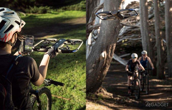 Селфи-дрон с 13 камерами справится со съёмкой в лесу (9 фото + 3 видео)