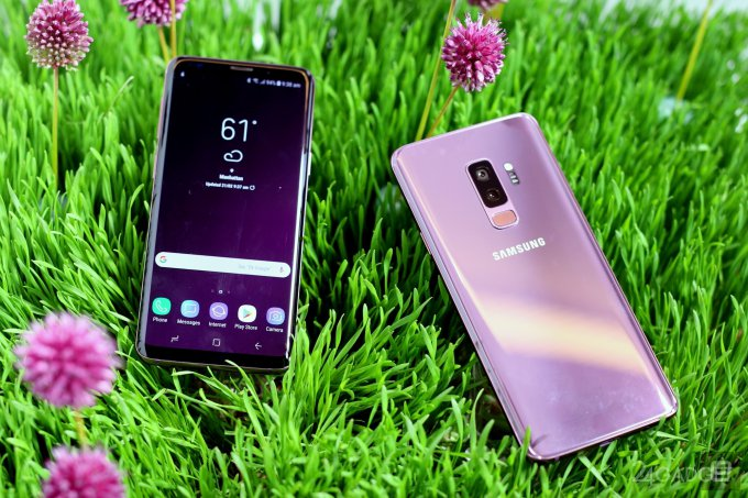 В России стартовали продажи Samsung Galaxy S9 и S9+ (4 фото)