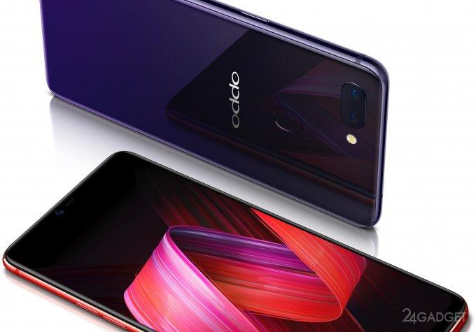 Новые флагманы Oppo внешне схож с iPhone X (9 фото + видео)