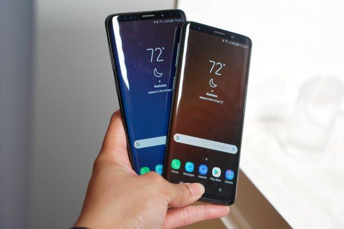 Samsung получает жалобы на дисплеи Galaxy S9+ и Galaxy S9