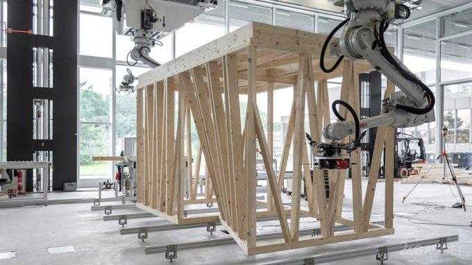 Роботов научили строить каркасы зданий