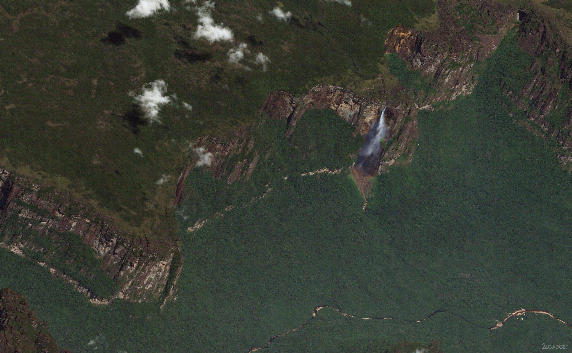 Как сделать фото местности с спутника