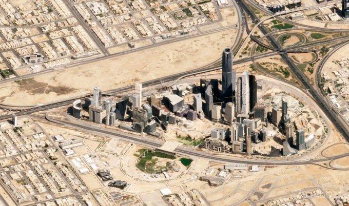 Потрясающие спутниковые снимки Земли, снятые с нового ракурса