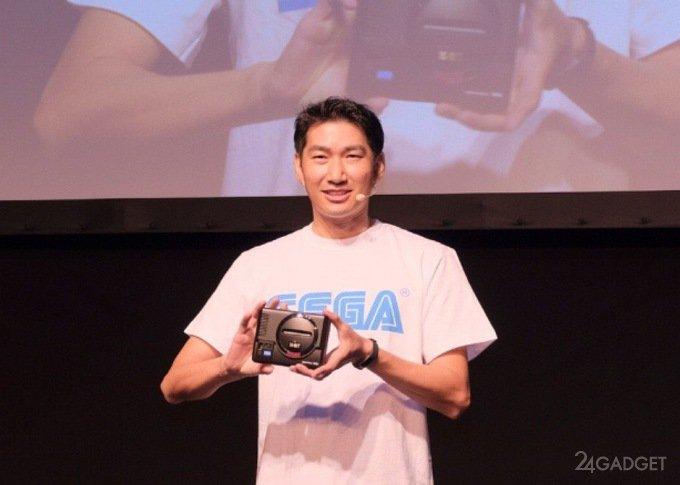 Sega реанимировала 16-битную игровую консоль Mega Drive (2 фото)