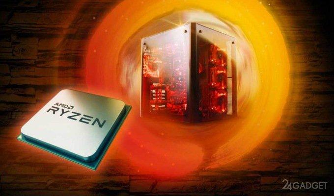 AMD анонсировала второе поколение десктопных процессоров Ryzen