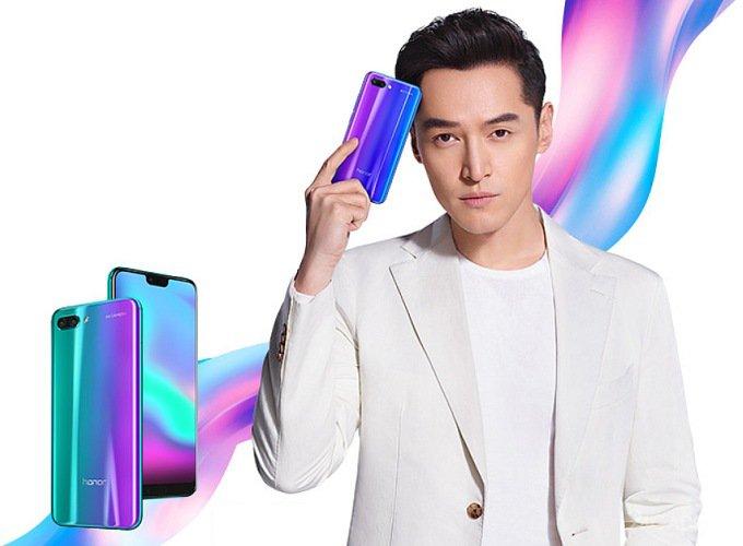 Huawei анонсировала флагман Honor 10 (19 фото)