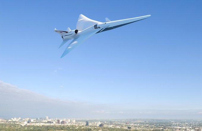 Тихий сверхзвуковой самолет NASA за четверть миллиарда долларов (видео)