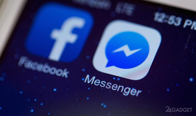 Facebook подвергает цензуре, отправляемый через Messenger контент