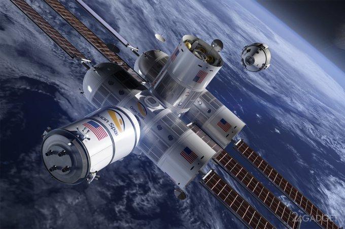 На околоземной орбите в 2021 году появится космический отель, но не на МКС (5 фото)