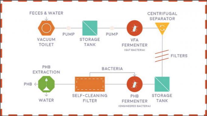 Отходы жизнедеятельности человека превратили в материал для 3D-принтера