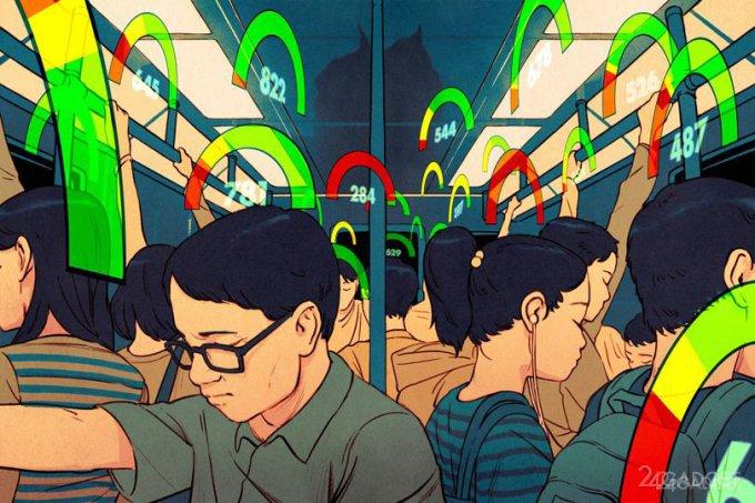 Как в «Чёрном зеркале», или бесценные баллы китайского социального рейтинга