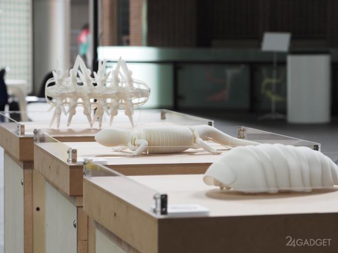 Японские дизайнеры напечатали «живых» 3D-жуков (9 фото + видео)