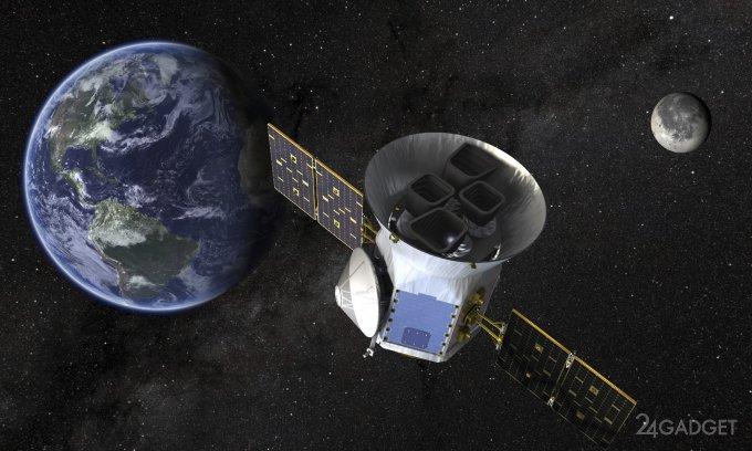 SpaceX вывел на орбиту телескоп TESS для поиска экзопланет (3 фото)