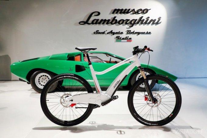 Электрические Lamborghini, но пока лишь велосипеды (4 фото)