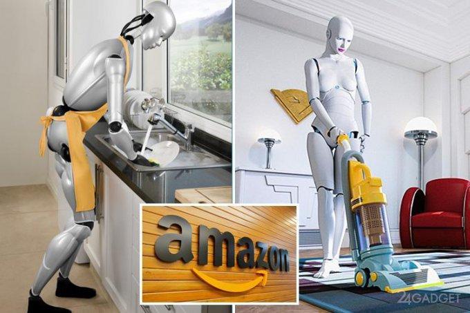 Amazon работает над домашним роботом (2 фото)