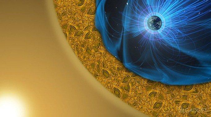 NASA продемонстрировала, как магнитное поле защищает Землю от солнечного ветра (видео)