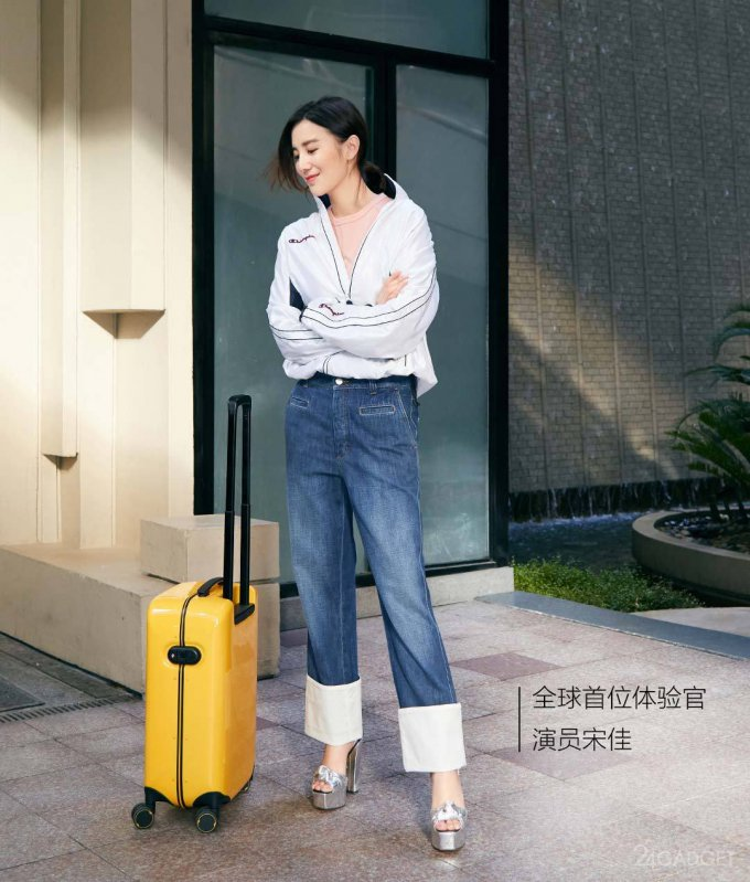 Xiaomi 90 Points Smart Suitcase — чемодан с дактилоскопическим сканером (8 фото)