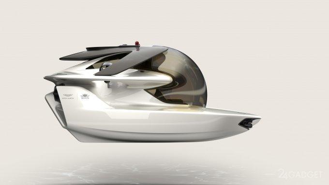 Aston Martin приступил к созданию электрической подлодки (5 фото)