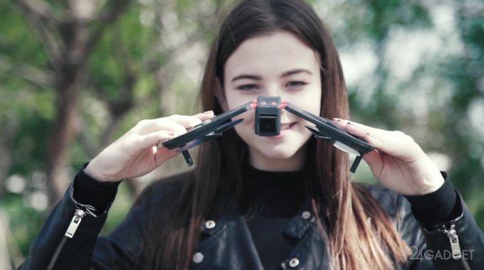 Xiaomi Funsnap iDol — складной дрон со встроенной камерой (7 фото + видео)