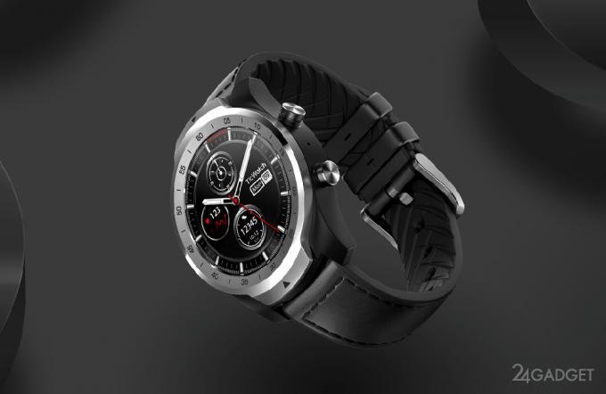 Смарт-часы TicWatch Pro используют два экрана для экономии батареи