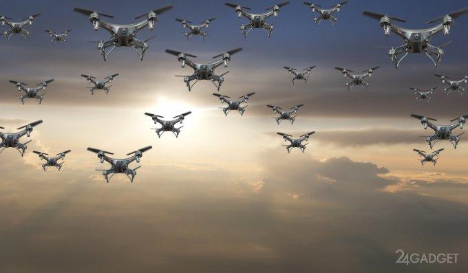 У дронов появятся видимые отличительные знаки, как у автомобилей