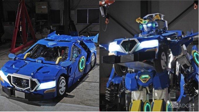 В Японии создали реального робота-трансформера (4 фото + 2 видео)
