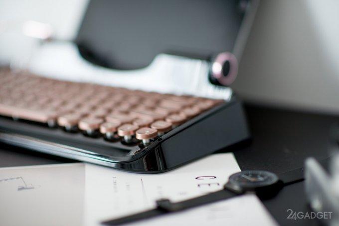 Rymek превращает іPad в винтажную хипстерскую печатную машинку