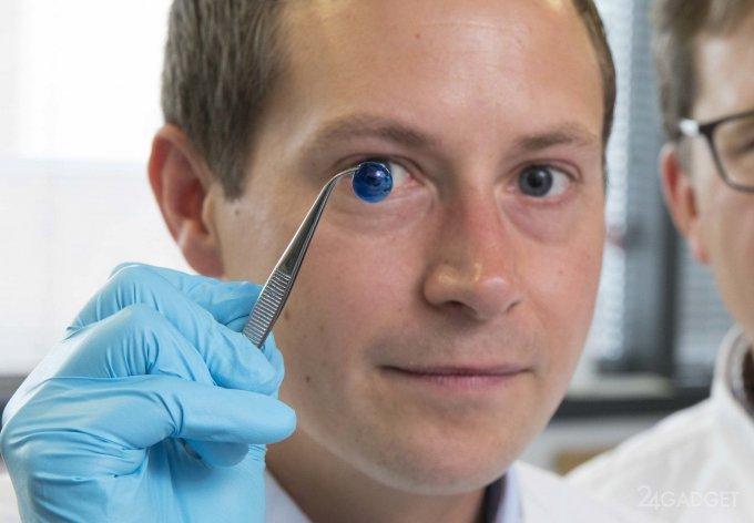 Роговицу глаза удалось распечатать на 3D-принтере (3 фото)