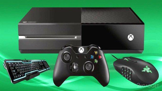 В Xbox One добавят поддержку клавиатуры и мыши (5 фото)