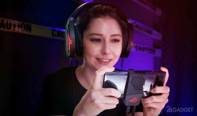 Asus ROG Phone — игровой монстр с набором геймерских гаджетов (24 фото + видео)
