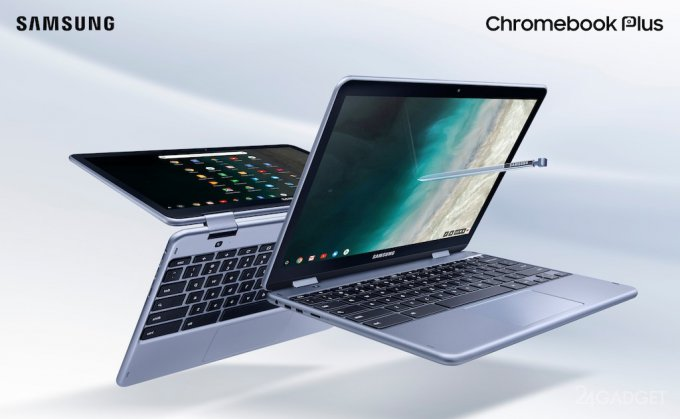 У Samsung Chromebook Plus V2 новенький чип и вторая камера (3 фото + видео)