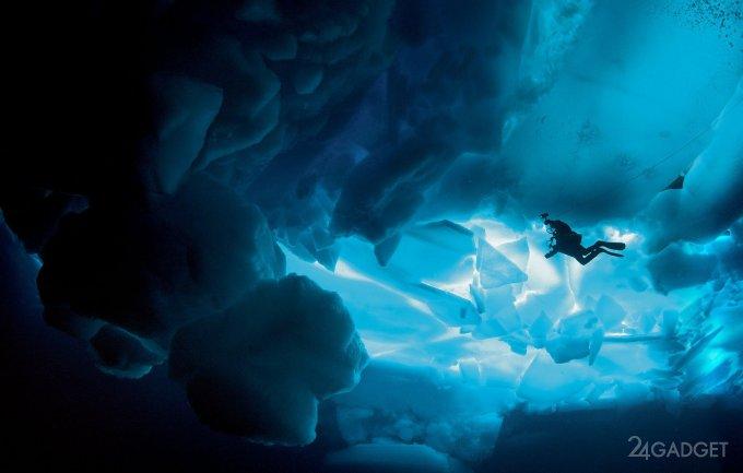 Искусственный жир позволит водолазам часами плавать в ледяной воде (4 фото)