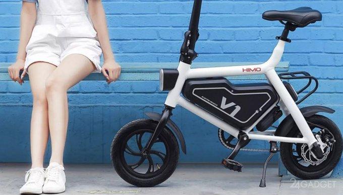 Xiaomi Himo – миниатюрный электрический велосипед за $260 (11 фото)