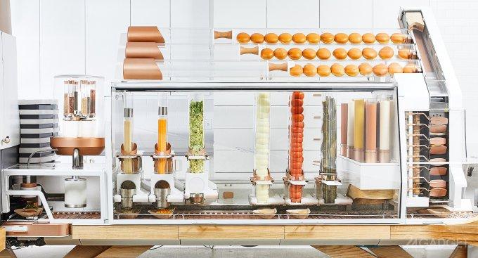 В США открывают бургерную с роботом вместо поваров (4 фото + видео)