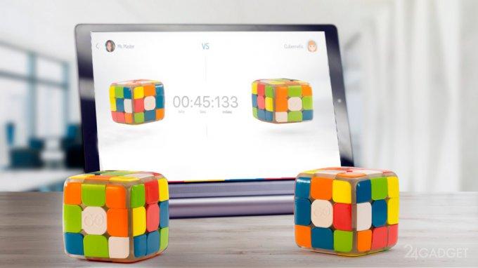 Новый кубика Рубика научит играть и устроит соревнования (9 фото + видео)