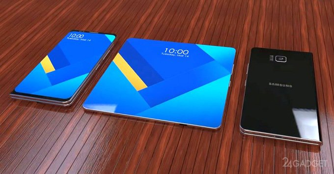 Гибкий смартфон от Oppo может получить несколько вариантов дизайна (4 фото)