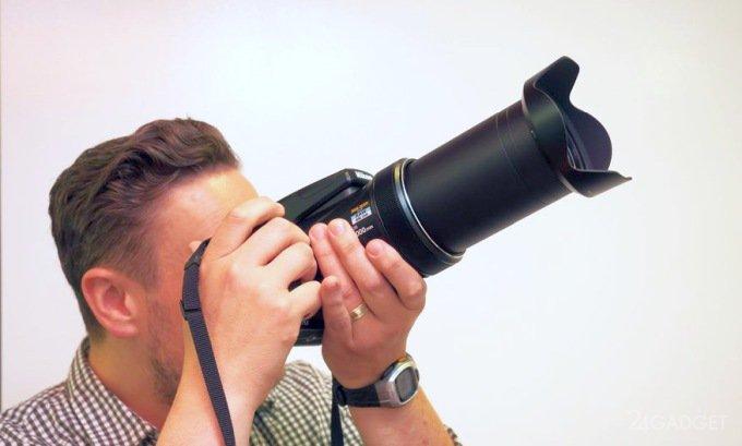 Nikon Coolpix P1000 - фотоаппарат с рекордным зумом (9 фото + видео)